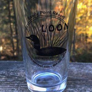 Loon Pint Glass