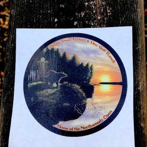Skeet Bear Sticker