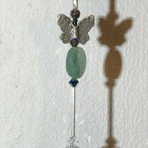 Silver Rose Custom SunCatcher