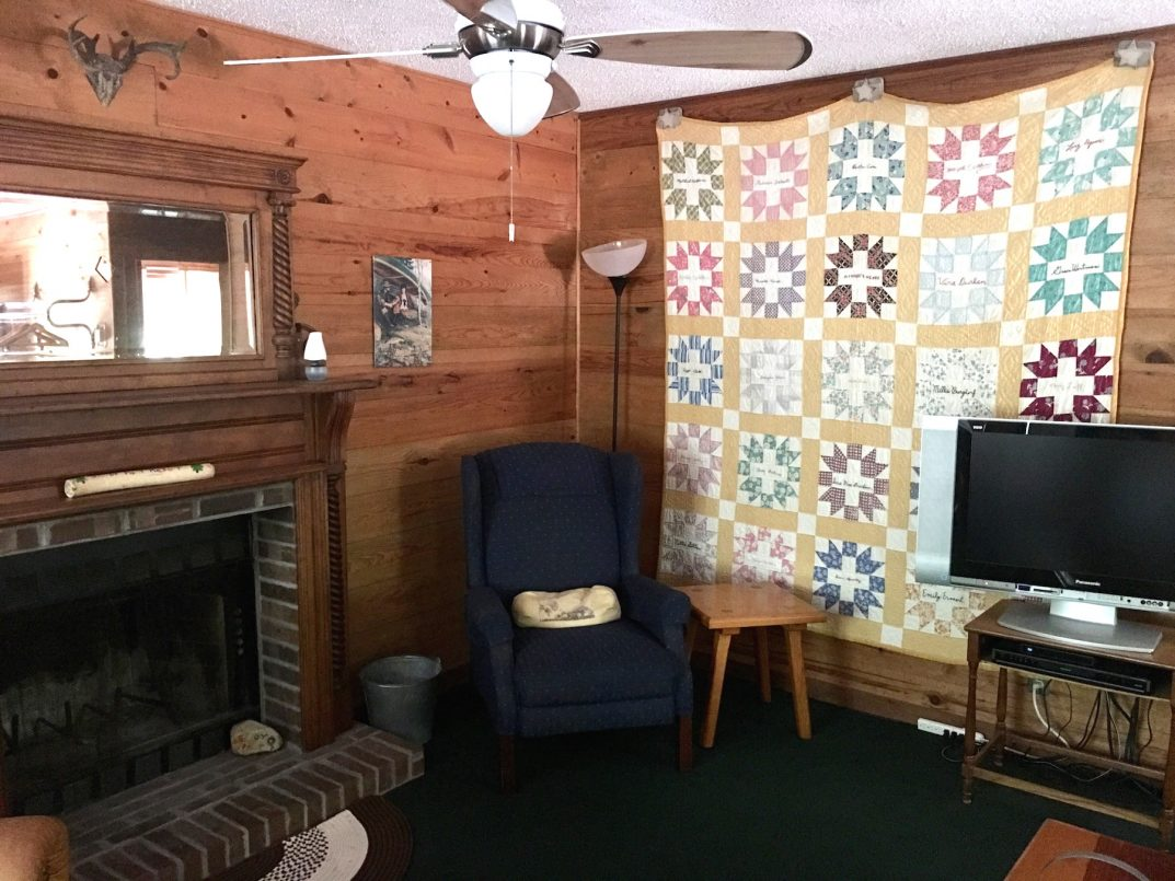 Aerie Cabin interior view