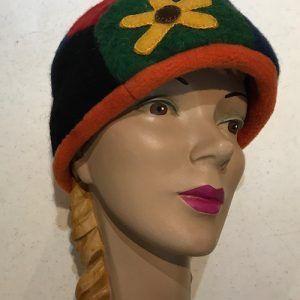 black eyed suzan wool cap