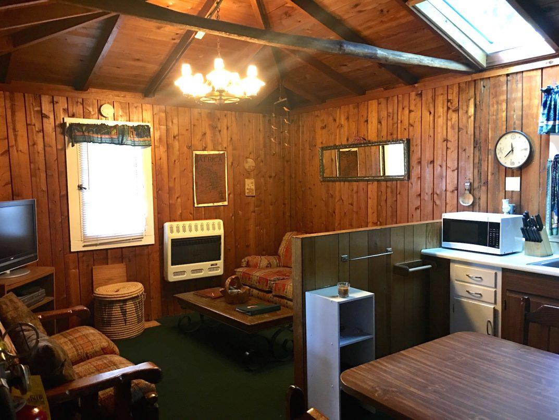 Karibu Cabin interior