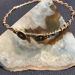 Tribal Girl Metal Bracelet